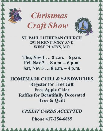 Christmas Craft Show 2018