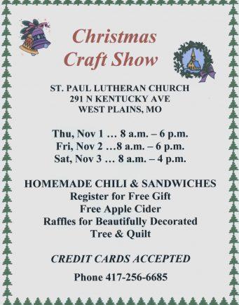 Christmas Craft Show 2018